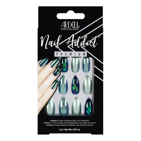 Ardell - Nail Addict Green Glitter Chrome
