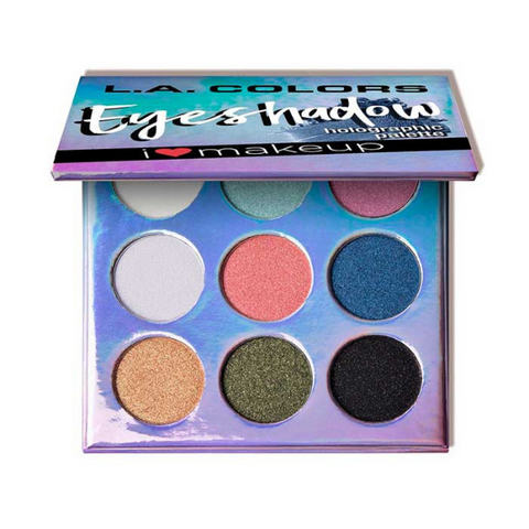 L.A. Colors - Beauty Booklet Holographic Palette