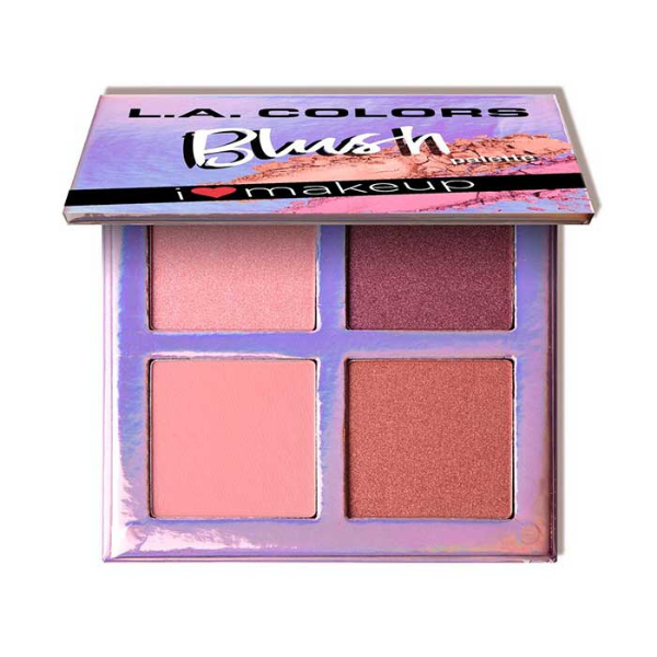 L.A. Colors - Beauty Booklet Blush Palette Getting Gorgeous