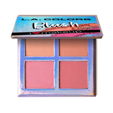 L.A. Colors - Beauty Booklet Blush Palette Feeling Fabulous