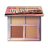 L.A. Colors - Beauty Booklet Hi-Lite & Bronzer Palette Radiance