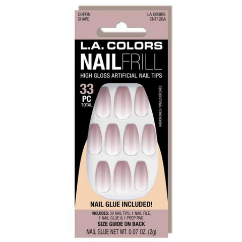 L.A. Colors - Nail Frill Nail Kit La Ombre