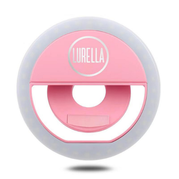 Lurella Cosmetics - Selfie Ring Light Pink Star