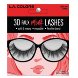 L.A. Colors - 3D Faux Mink Lashes Andie