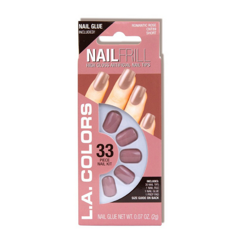L.A. Colors - Nail Frill Romantic Rose