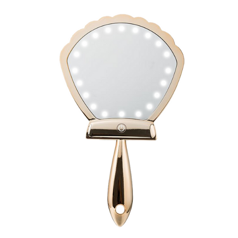 Lurella Cosmetics - LED Shell Shock Mirror Gold