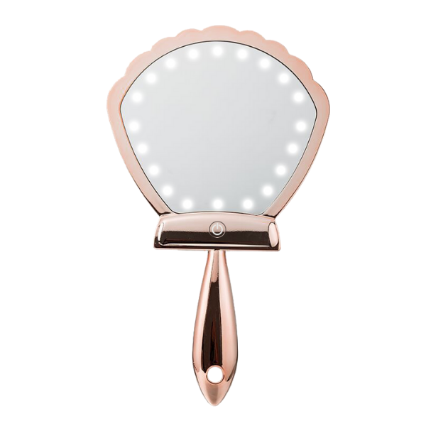 Lurella Cosmetics - LED Shell Shock Mirror Rose Gold