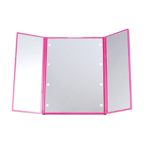 Lurella Cosmetics - LED Kickstand Mirror Pink Fierce