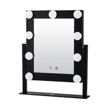 Lurella Cosmetics - 9 Bulb Vanity Mirror Black