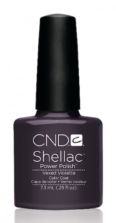 "CND Shellac ""Vexed Violette"""