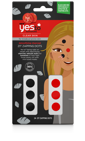 Yes To - Tomatoes Detoxifying Charcoal Zit Zapping Dots