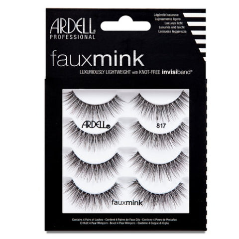 Ardell - Faux Mink Lashes 817 4 Pack