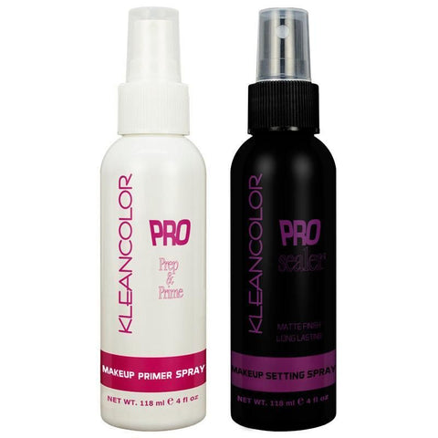 Kleancolor - Pro Primer & Setting Spray Duo