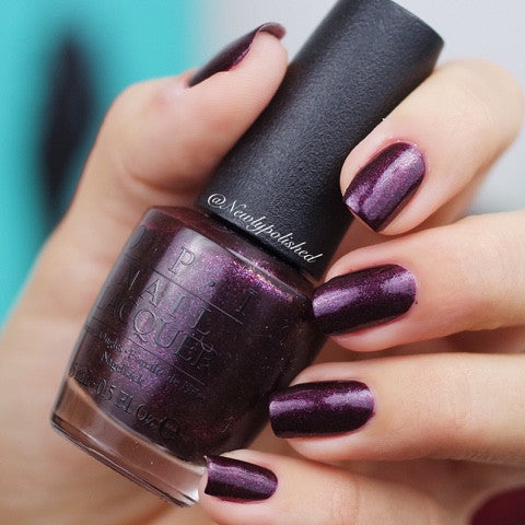 OPI 2016 Breakfast at Tiffany's 'Rich & Brazilian'