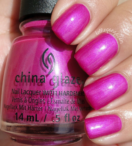 China Glaze 2015 Desert Escape 'Don't Desert Me'