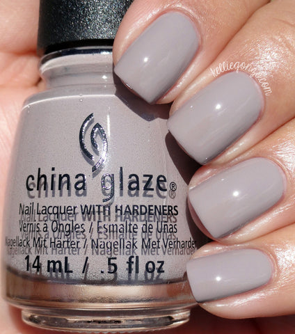 China Glaze 2016 Rebel 'Dope Taupe'
