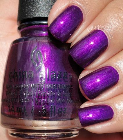 China Glaze 2016 Rebel 'Purple Fiction'