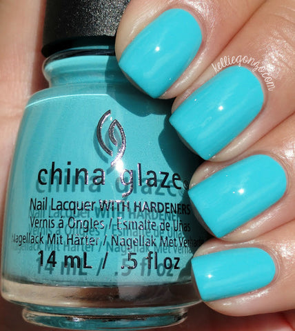 China Glaze 2015 Desert Escape 'Rain Dance the Night Away'