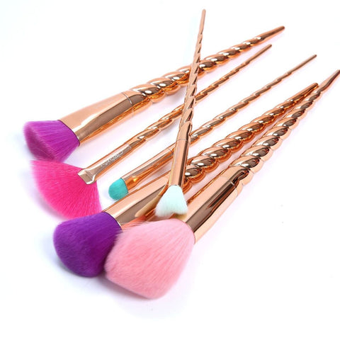 Beauty Creations - Copperella 6 Piece Makeup Brush Set