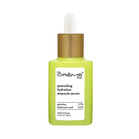 The Creme Shop - Quenching Hydration Ampoule Serum - Crèmecoction Spirulina + Hyaluronic Acid