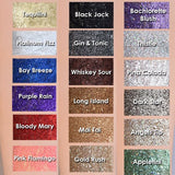 LA Splash Cosmetics - Crystallized Glitter Bay Breeze
