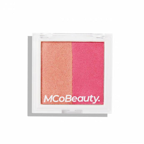 MCoBeauty - Duo Blush & Highlight Berry Glow