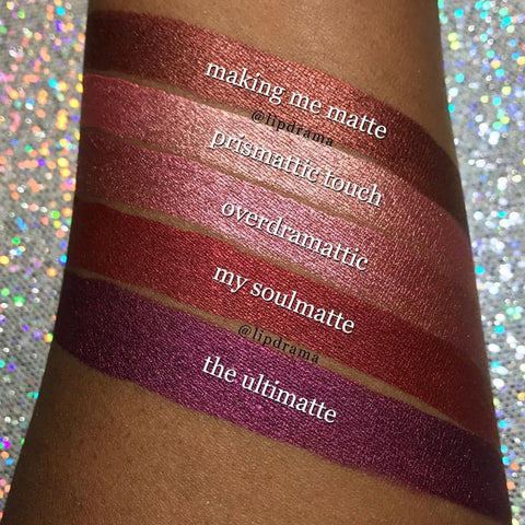 Milani Cosmetics Amore Matte Metallic Lip Crème - The Ultimatte