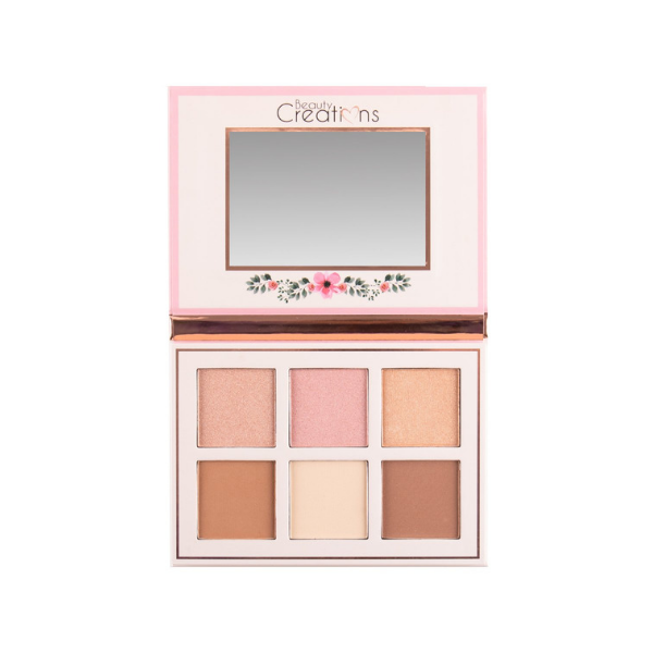 Beauty Creations - Floral Bloom Highlight & Contour Kit