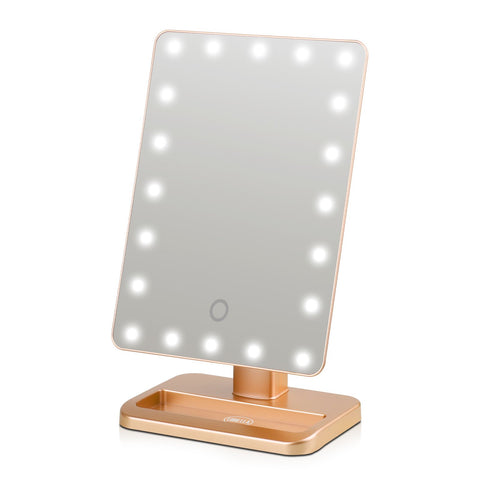 Lurella Cosmetics - Starbright LED Mirror Gold