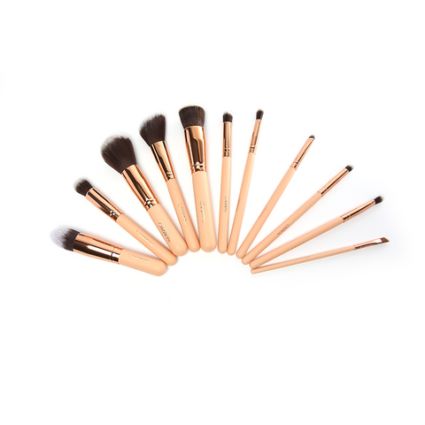 Beauty Creations - Ballerina Rose Gold 12pc Brush Set