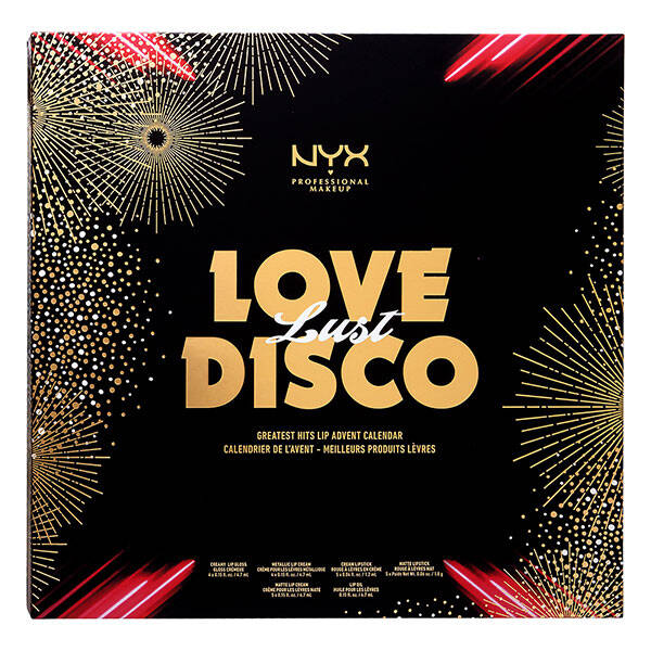 NYX - Love Lust Disco Greatest Hits Lip Advent Calendar