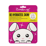 The Creme Shop - Be Hydrated, Skin! Animated Bunny Face Mask - Moisturizing Hyaluronic Acid