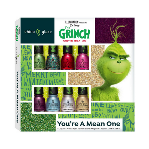 China Glaze Grinch Collection - Micro Mini Nail Kit