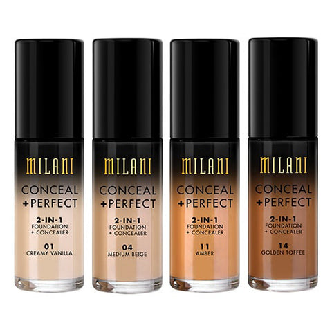 Milani Cosmetics Conceal + Perfect 2-in-1 Foundation + Concealer