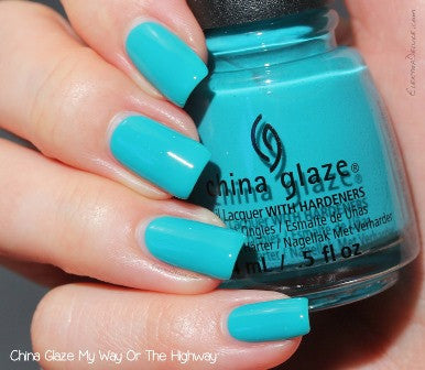 China Glaze 2015 Road Trip 'My Way Or The Highway'