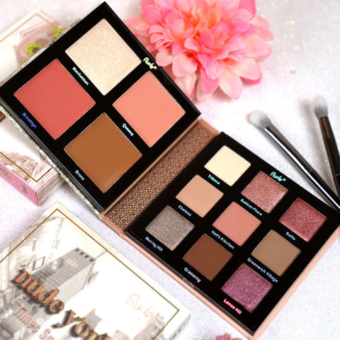 Rude Cosmetics - Nude York Face & Eye Palette