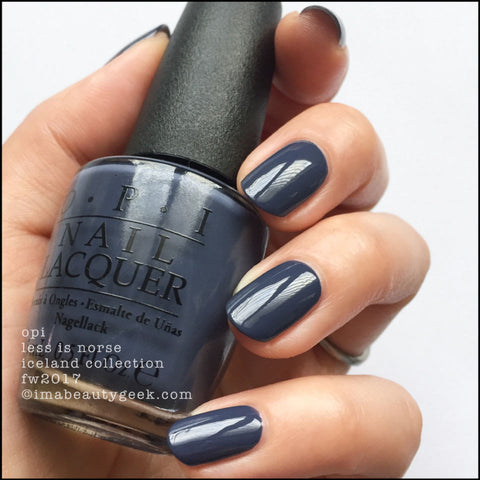OPI 2017 Iceland 'Less is Norse'