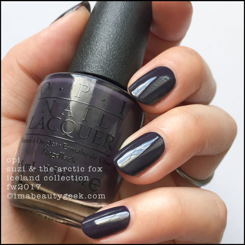 OPI 2017 Iceland 'Suzi & the Arctic Fox'