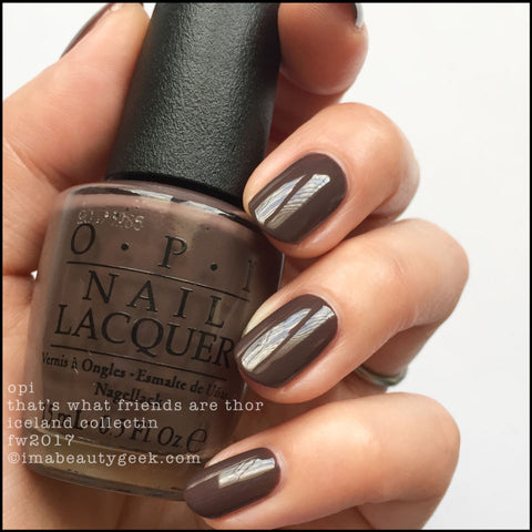 OPI 2017 Iceland 'That's What Friends Are Thor'