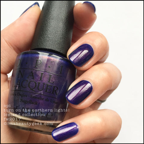 OPI 2017 Iceland 'Turn On The Northern Lights!'