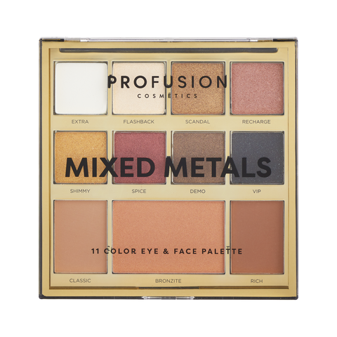 Profusion - Mixed Metals Face Kit Rose Gold Chrome