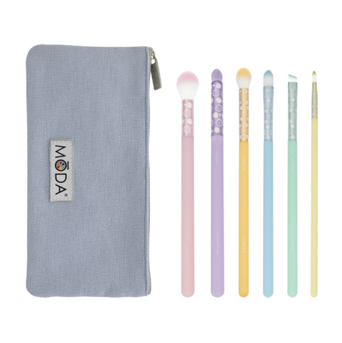 Moda - Posh Pastel 7pc Delicate Eye Kit