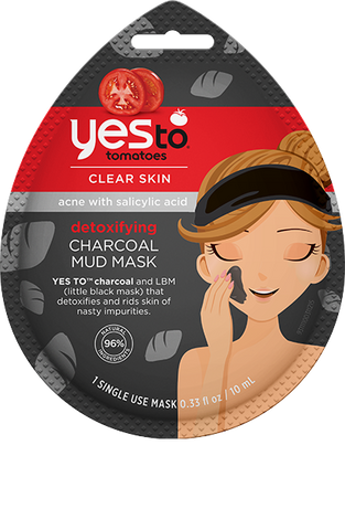Yes To - Tomatoes Detoxifying Charcoal Mud Mask