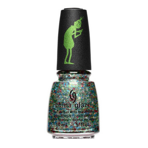 China Glaze Grinch Collection - You're a Mean One