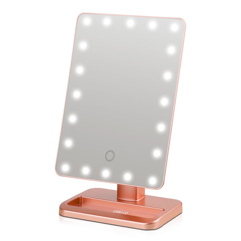 Lurella Cosmetics - Starbright LED Mirror Rose Gold