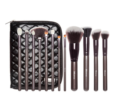 Morphe - 12 Piece Beautiful and Bronze Set