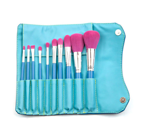 Morphe - 10 Piece Vegan Brush Set