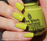 China Glaze 2015 Road Trip 'Trip Of A Lime Time'