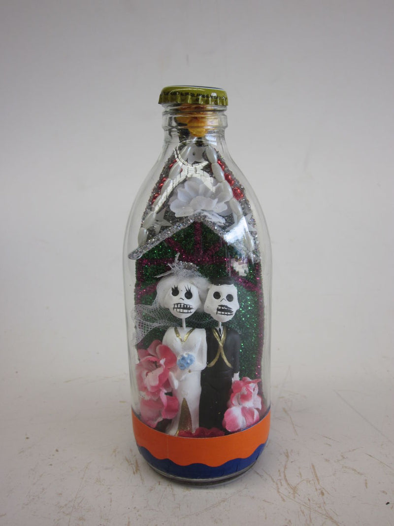 Day of the Dead - Glass Bottle - Popcorn Street