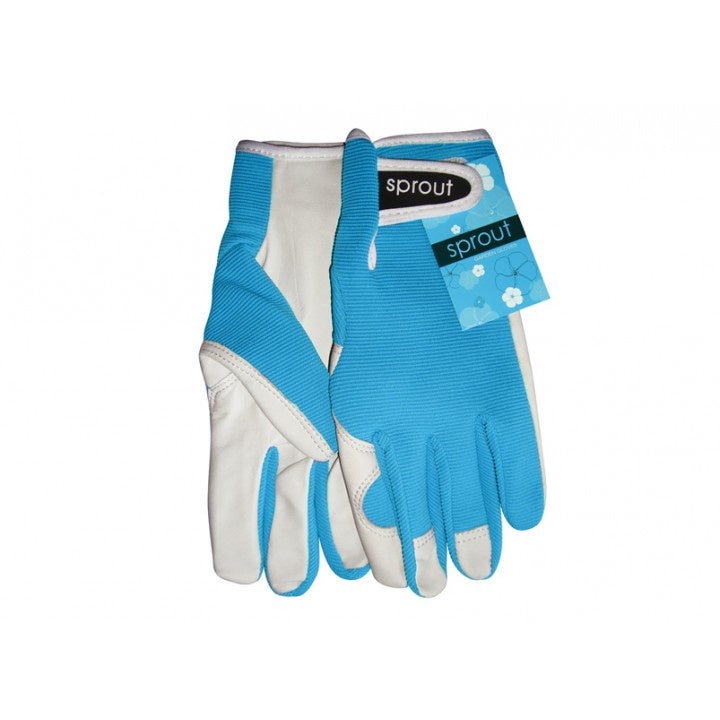 Sprout Gloves - Aqua